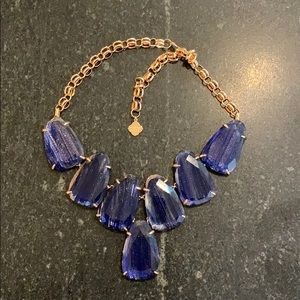Kendra Scott Harlow Necklace in Blue and Rose